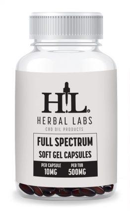 Full Spectrum Soft Gell Capsules